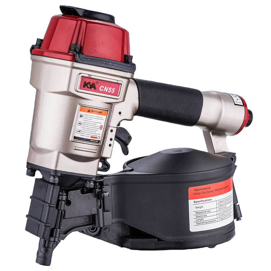 CN55 Pneumatic Coil Siding Nailer