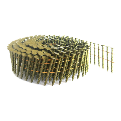 15 Degree Galvanized 1-1/2 Inch Coil Siding Nails