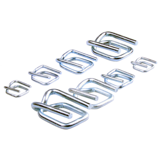 Galvanized Steel Wire Buckle 16mm