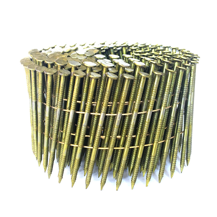 1-1/4 Ring Shank Coil Nails