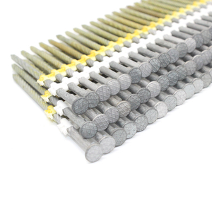 21 Degree 3-1/2 In. X 0.113 HDG Screw Shank Framing Nails