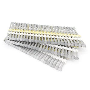 21 Degree 2-1/2 In. X 0.113 HDG Screw Shank Plastic Collated Strip Nails