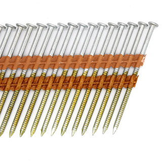 21 Degree 3-1/4 In. X 0.131 Galvanized Collated Framing Nails