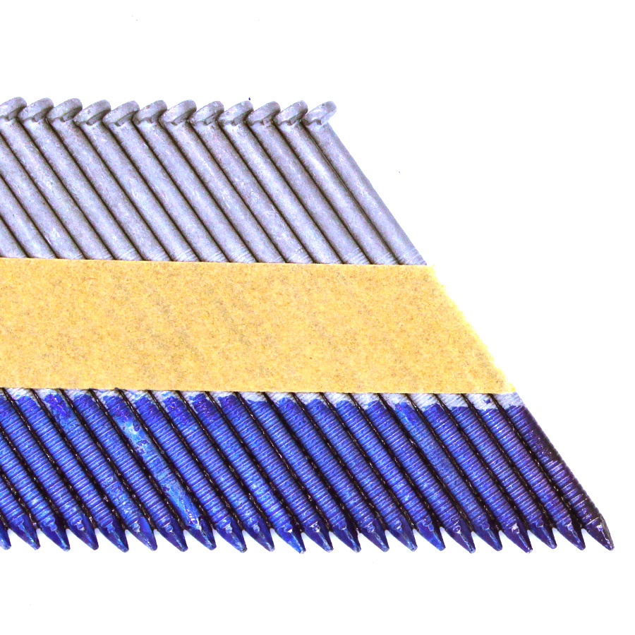33 Degree Clipped Head Paper Collated Framing Nails