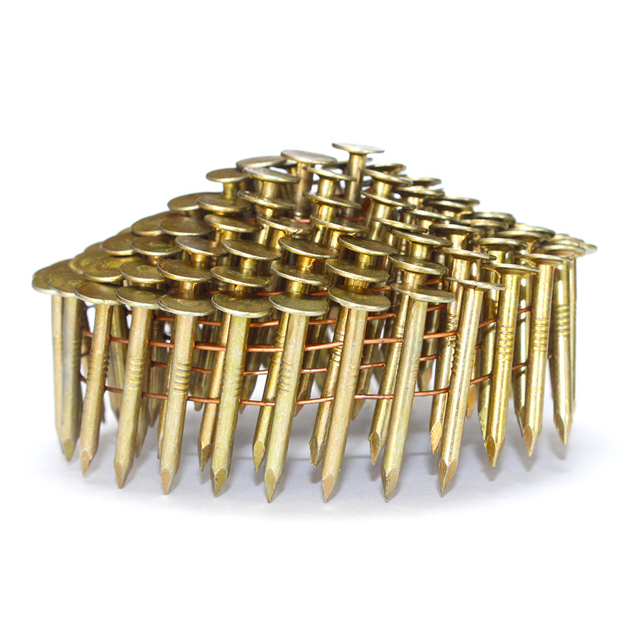 15 Degree Coil Roofing Nails 1-1/ 2 in. x 0.120 in.